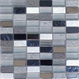 Mozaika Mosavit City gris 30x30 cm mat / lesk MOSCITYGR