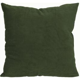 Home collection Dekorační polštářek manšestrový 45x45 cm khaki