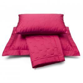 Vandyck Luxusný saténový prehoz na postel Raspberry - malinová - 180x260 cm