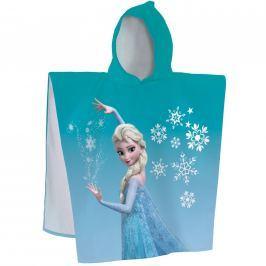 CTI Pončo Frozen Enjoy (Ľadové kráľovstvo) 60x120 cm