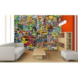 1Wall 1Wall Kreatívna koláž 64 dielov 37,5 x 27,5cm Komiks