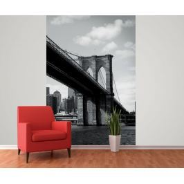 1Wall 1Wall fototapeta New York-Brooklynský most 158x232 cm