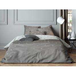Mistral home Mistral Home povlečení bavlněný satén Luna Grey šedá - 140x200 / 70x90 cm