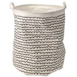 Home collection Látkový prádelní koš 40x50cm vlnky