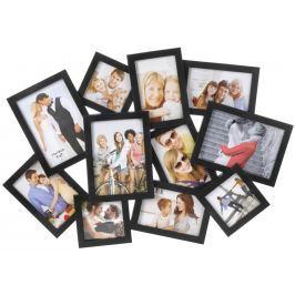 Home collection Rám na 11 fotek 64x44cm černá