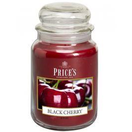 Price´s SIGNATURE MAXI sviečka v skle Čierna čerešňa, horenie 150h