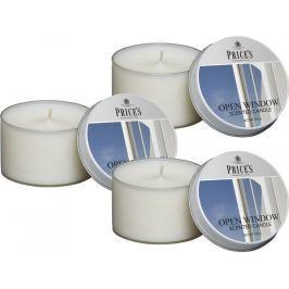 Price´s FRAGRANCE vonné svíčky Otevřené okno 123g 3ks