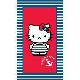 CTI Osuška Hello Kitty námorníčka 75x150 cm