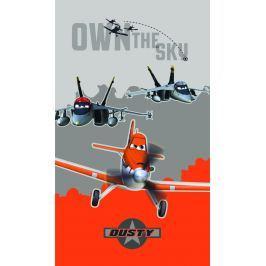 CTI Osuška Lietadlá (Planes) oranžová 70x120 cm