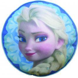CTI Plyšový vankúšik Frozen Elsa (Ľadové kráľovstvo) priemer 36 cm