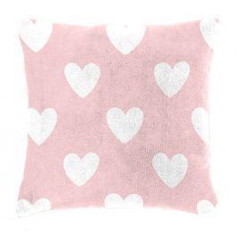 Mistral home Detský vankúšik baránok Mistral Home Amore pink srdiečka 40x40 cm