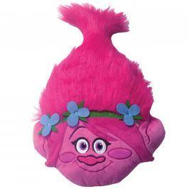 CTI CTI 3D hlava vankúšik Trolls (Trollovia) Poppy head 33x54 cm