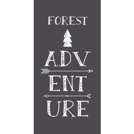TODAY TODAY bavlněný koberec Forest Adventure 60x120 cm