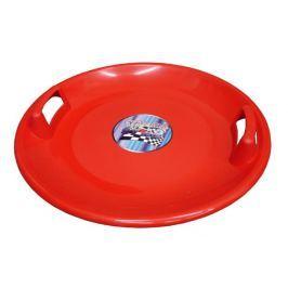 Acra Superstar plastový talíř červený