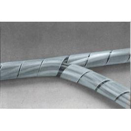 Páska spirálová k organizaci kabeláže 8-60mm 10m ČIRÁ