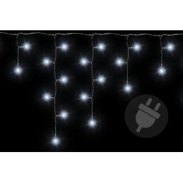Vianočný svetelný dážď - 11,9 m, 600 LED, studeno biely