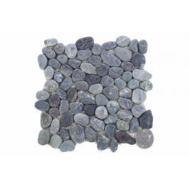Garth Mozaika riečne okruhliaky šedá obklady 1 m2