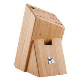 ZWILLING Blok na nože asymetrický bambusový na 6 kusov