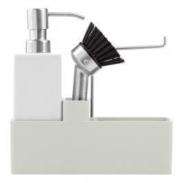 ZONE Keramická súprava na umývanie riadu warm grey