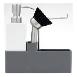 ZONE Keramická súprava na umývanie riadu grey