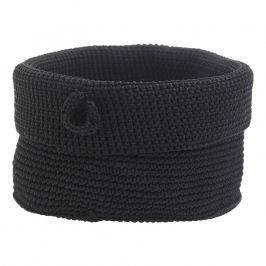 ZONE Úložný košík okrúhly veľký black