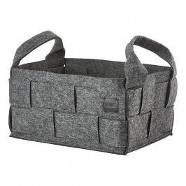 ZONE Úložný košík veľký grey HIDE