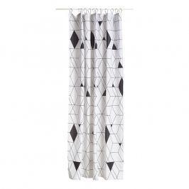 ZONE Sprchový záves 180 × 200 cm black HARLEQUIN