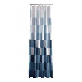 ZONE Sprchový záves so štvorcami 180 × 200 cm blue