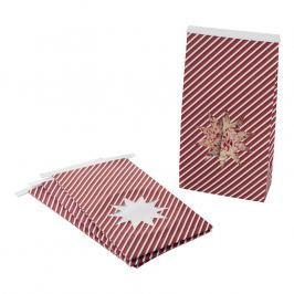NordicWare Papierové darčekové vrecká Star Seasonally Sweet Holiday 6 kusov, Nordic Ware