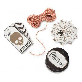 NordicWare Darčekové visačky so šnúrkou Seasonally Sweet Halloween 12 kusov, Nordic Ware