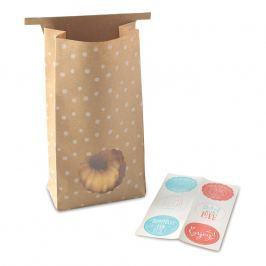 NordicWare Papierové darčekové vrecká so samolepkami Bags & Stickers 6 kusov, Nordic Ware