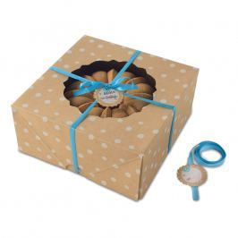NordicWare Veľké papierové krabice na bábovku Kraft Paper Bundt Box 2 kusy, Nordic Ware