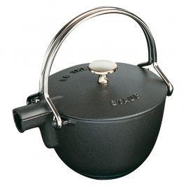 Staub Kanvica na čaj Ø 16,5 cm čierna