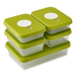 Joseph Joseph Súprava krabiček na potraviny s dátumom 5-dielna zelená Dial™
