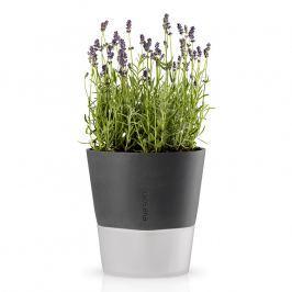 Eva Solo Samozavlažovací kvetináč sivá Ø 20,5 cm