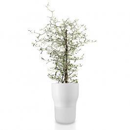 Eva Solo Samozavlažovací keramický kvetináč kriedovo biely Ø 13 cm