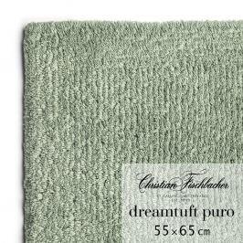 Christian Fischbacher Kúpeľňový koberček 55 x 65 cm zelenosivý Dreamtuft Puro, Fischbacher