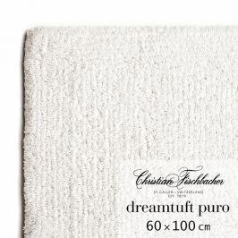 Christian Fischbacher Kúpeľňový koberček 60 x 100 cm kriedový Dreamtuft Puro, Fischbacher