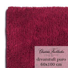 Christian Fischbacher Kúpeľňový koberček 60 x 100 cm vínový Dreamtuft Puro, Fischbacher