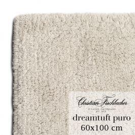 Christian Fischbacher Kúpeľňový koberček 60 x 100 cm pieskový Dreamtuft Puro, Fischbacher