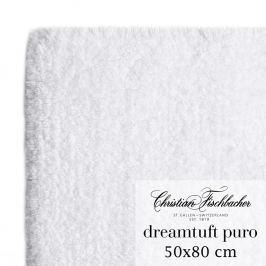 Christian Fischbacher Kúpeľňový koberček 50 x 80 cm biely Dreamtuft Puro, Fischbacher