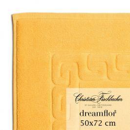 Christian Fischbacher Kúpeľňová predložka 50 x 72 cm žltá Dreamflor®, Fischbacher