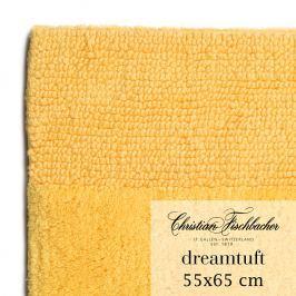 Christian Fischbacher Kúpeľňový koberček 55 x 65 cm žltý Dreamtuft, Fischbacher