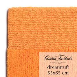 Christian Fischbacher Kúpeľňový koberček 55 x 65 cm oranžový Dreamtuft, Fischbacher
