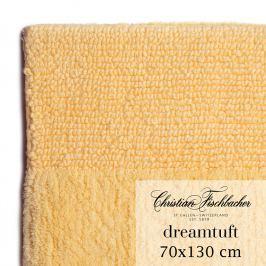 Christian Fischbacher Kúpeľňový koberček 70 x 130 cm vanilkový Dreamtuft, Fischbacher