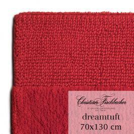 Christian Fischbacher Kúpeľňový koberček 70 x 130 cm červený Dreamtuft, Fischbacher
