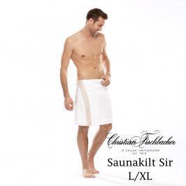 Christian Fischbacher Pánsky sarong do sauny L/XL Dreamflor®, Fischbacher