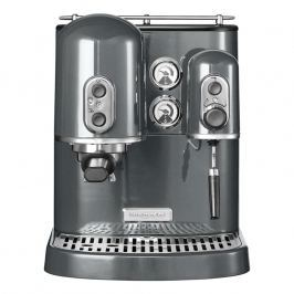 KitchenAid Pákový kávovar na espresso Artisan sivá metalíza
