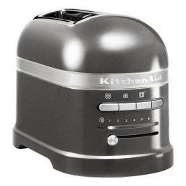 KitchenAid Hriankovač na 2 plátky Artisan striebristo sivá