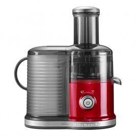 KitchenAid Odstredivý odšťavovač Artisan s keramickým kotúčom červená metalíza